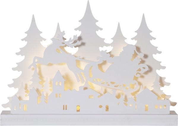 Best Season LED-Fensterleuchter GRANDY, 127 warmweiße LEDs