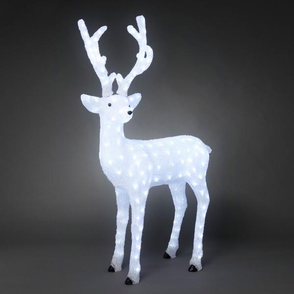 LED Acryl Rentier männlich