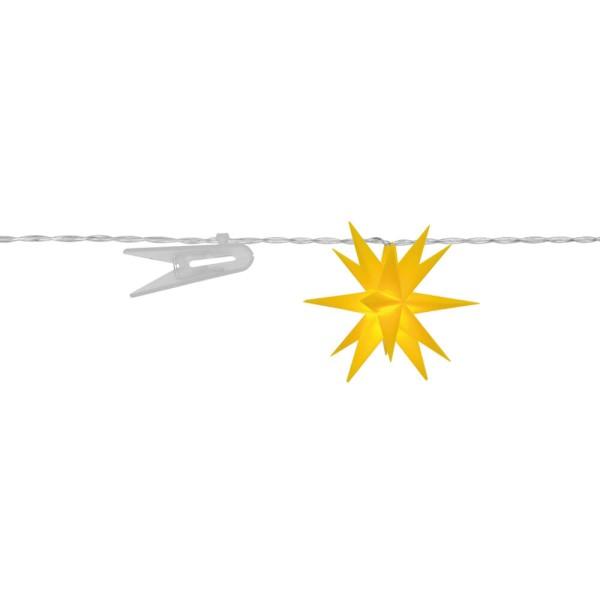 Sterntaler LED Dekolichterkette Sterne, gelb, Ø 8 cm
