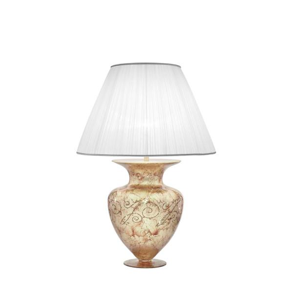 Tischleuchte ANFORA, Medici Silver, Höhe 90 Chrom, &Oslash&#59;60cm, Höhe 90cm, 1-flammig, E