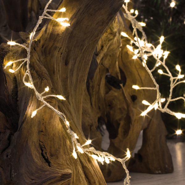LED Minilichterkette warmweiß in versch. Längen