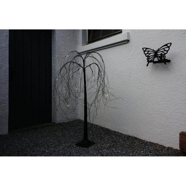 Max Pferdekaemper LED-Weide, 72 warmweiße LEDs, Höhe 120 cm, Ø 70 cm