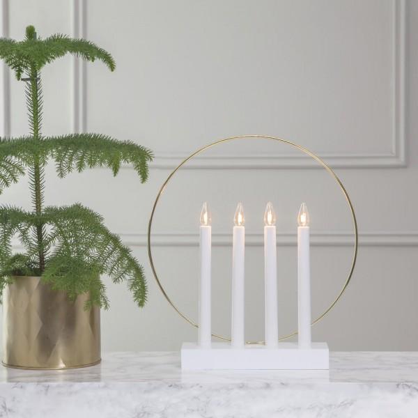Best Season Weihnachtsleuchter, GLOSSY RING Ø 32 cm