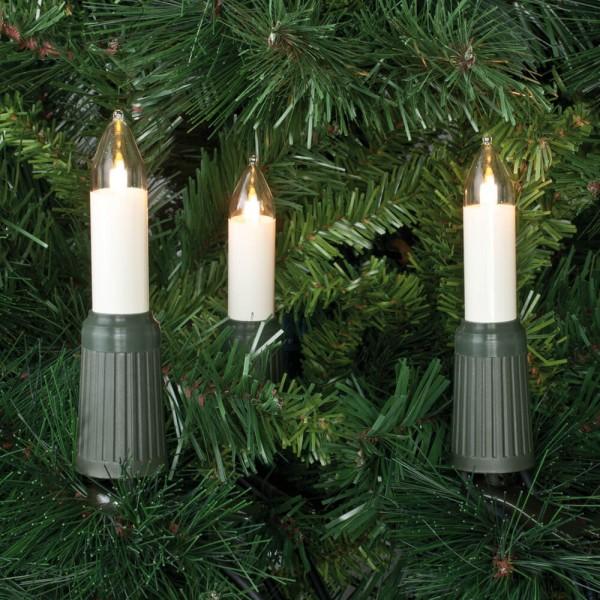 Rotpfeil Weihnachtsbaumkette, QUICKFIX CANDLE, 15x E14/8-34V/7W