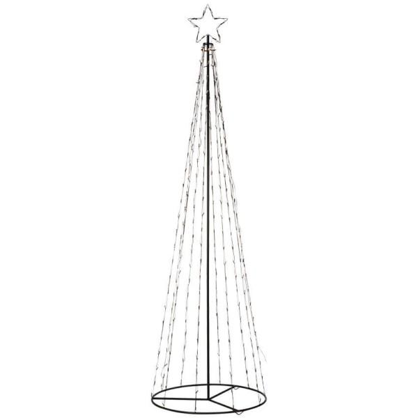 Mark Slöjd LED-Tannenbaum TORN, 250 warmweiße LEDs, Höhe 250cm, Ø 75 cm