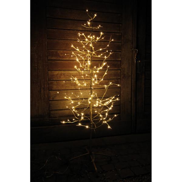 LED-Baum, 200 warmweiße LEDs in 2 versch. Farben