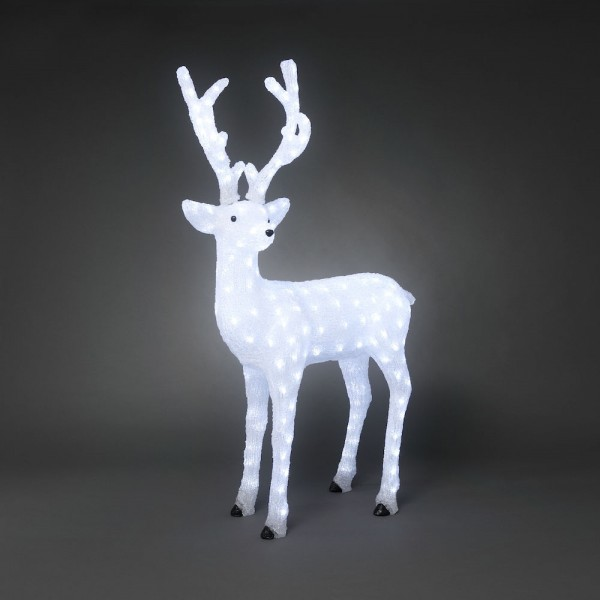 Konstsmide LED Acryl Rentier männlich