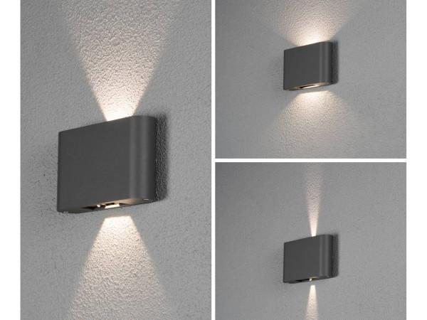 LED Aussenleuchte Wandleuchte CHIERI in 2 Farben