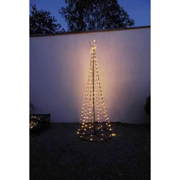 Tannenbaum TORN, 250 warmweiße LEDs