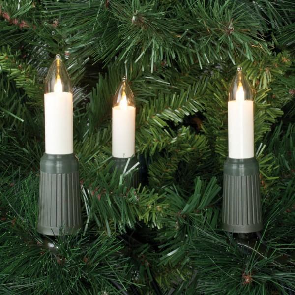 Rotpfeil LED-Weihnachtsbaumkette, klar/elfenbein, 30LEDs