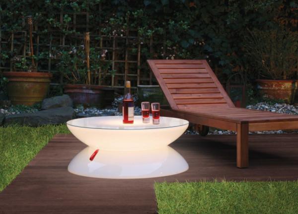 Leuchttisch Partytisch Lounge Outdoor
