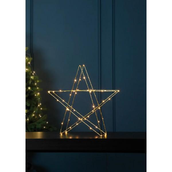 Best Season LED-Weihnachtsstern SUPER, 30 warmweiße LEDs