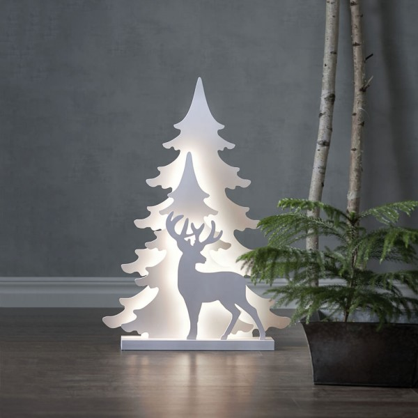 Best Season LED-Weihnachtsleuchter, GRANDY, 36 warmweiße LEDs