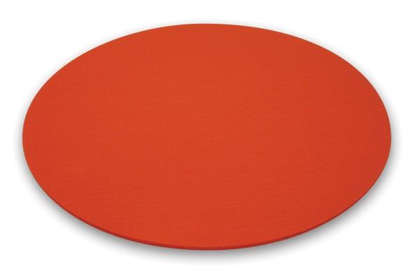 Moree Bubble Filz-Kissen, Ø 40 cm, orange
