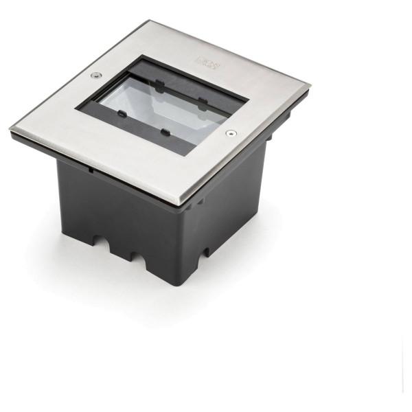 LED Boden - Einbauleuchte Strahler mit verstellbaren Lichtaustritt