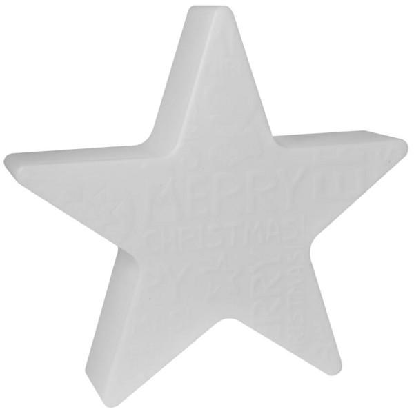 Max Pferdekaemper Außendekoleuchte, SHINING STAR, MERRY CHRISTMAS Ø 60cm