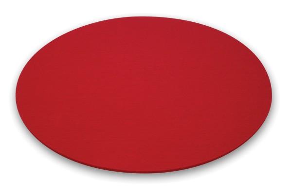 Moree Bubble Filz-Kissen, Ø 40 cm, rot